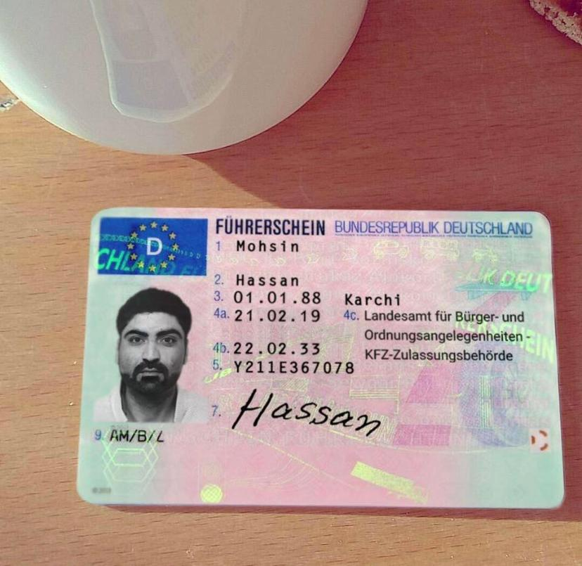 Köp tyska körkort