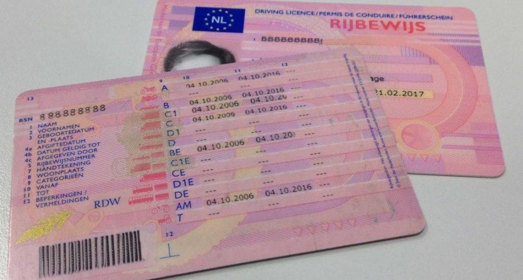 Köp Holländskt körkort